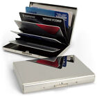 Metal Men's ID Wallets with Credit Card