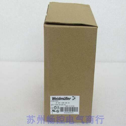 1pc New Weidmuller Power Cp Snt 120w 24v 5a 8708670000