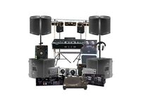 DJ / PA Speaker Hire From £50 - Covers All of London & Surrounding Areas