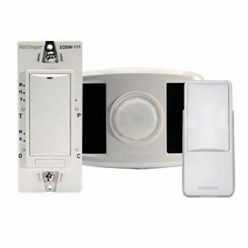 Wattstopper Wireless RF Occupancy Sensor 1 Load Kit - White RF switch kit single