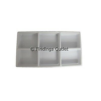 6 Compartment Durable Plastic Tray Liner