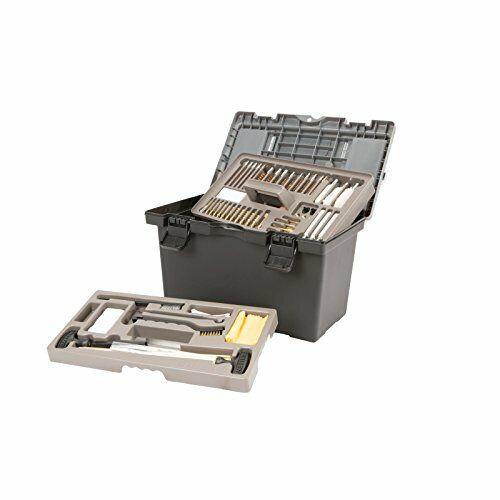 Professional Grade Ultimate Firearm Gun Cleaning Kit Set w/ Tool Box Case (65ct)