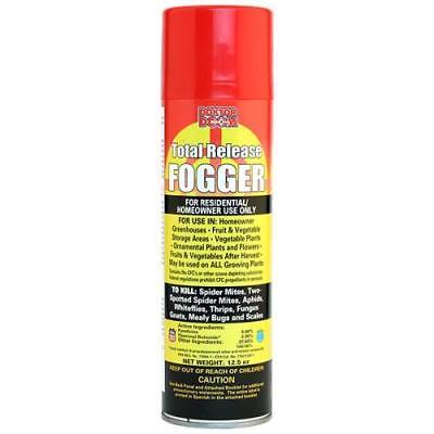 12.5 oz Doktor Doom Pyrethrin Total Release Fogger - Bug Bomb for Mites -
