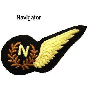 RAF Royal Air Force Half Brevet / half wings sew on Brevets insignia - new