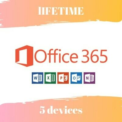 Instant Microsoft office 365 Pro, lifetime Account 5 devices 5tb WINDOWS MOBILE! ()