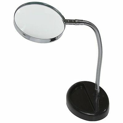 Magnifying Glass 5X Desk Top Table FLEXIBLE Neck Magnifier