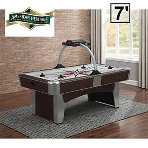 NEW AH 7' MONARCH AIR HOCKEY TABLE - 116469653 - AMERICAN HERITAGE
