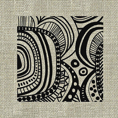 20 Lunch Paper Napkins ETHNIC FLOWER GREY Decoration Colour Ethnic Decoupage  (Grey Paper Napkins)