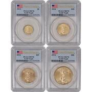 Gold American Eagle 4 Coin Set