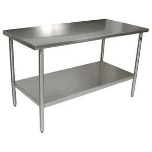Commercial Work Tables - Prep Table with Sink