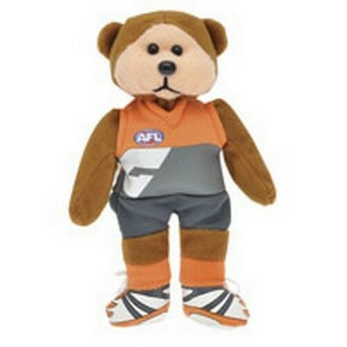 SKANSEN BEANIE KID GWS GIANTS AFL BEAR MINT WITH MINT TAG MARCH  2012