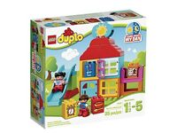 """Lego Duplo """"learn about my day"""" house"""