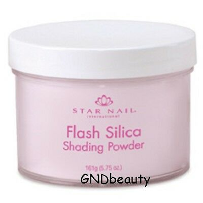 Star Nail Professional Acrylic  Flash Silica Shading Powders 1.6 oz. ., 5.75 oz. Star Nail Odorless Acrylic