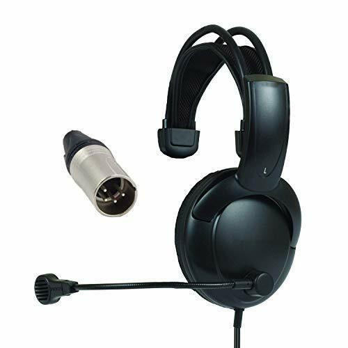 Clear-Com RTS Glenfordsales Search  SINGLE MUFF INTERCOM headphones 4/5-pin XLR