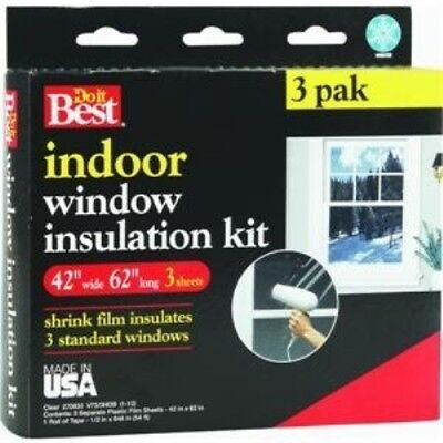 Do it Best Heat Shrink Film Window Kit Best Heat Shrink Film Window