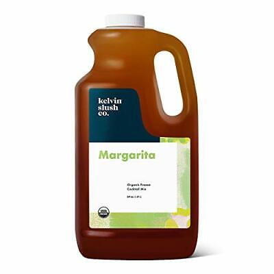 Kelvin Slush Co. Margarita Organic Frozen Cocktail Slush Mix Award-winni