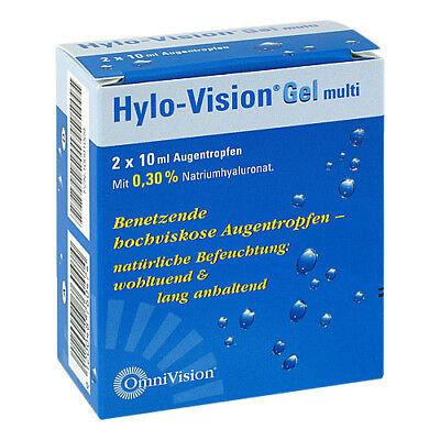 HYLO-VISION Gel multi Augentropfen 20ml 10091009