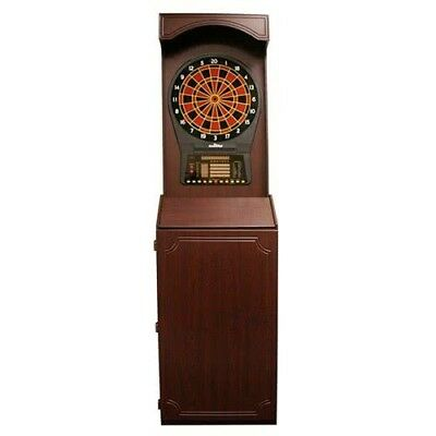 Arcade Style Cabinet with CricketPro Electronic Dart Game (Arachnid Electronic)