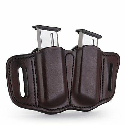 1791 Leather Double Mag Holster Best for Concealed Carry Needs - Signature