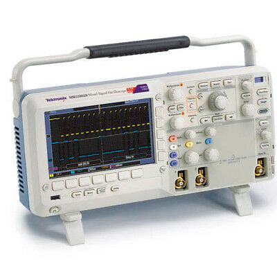 Tektronix Mso2012b 100 Mhz 216-ch 1gss Mixed Signal Oscilloscope