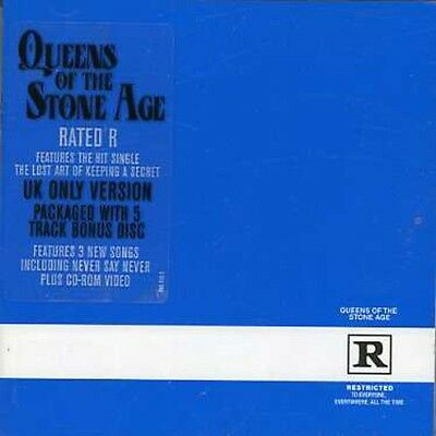 Queens Of The Stone Age   Rated R  New Cd  Uk   Import