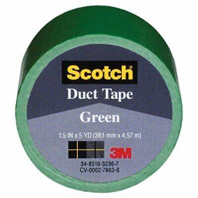3m Company 1005-grn-ip Green Duct Tape 1.5 X 5-yard