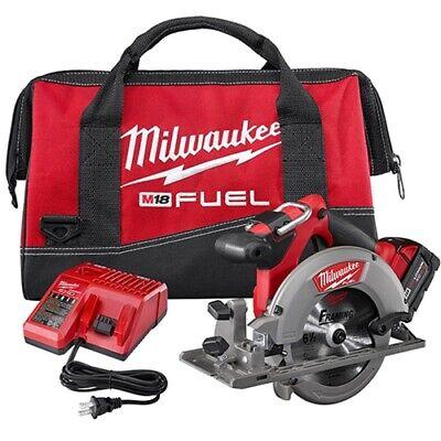 "Milwaukee 2730-21 M18 FUEL 6-1/2"" Circular Saw Kit with 1 Ba"