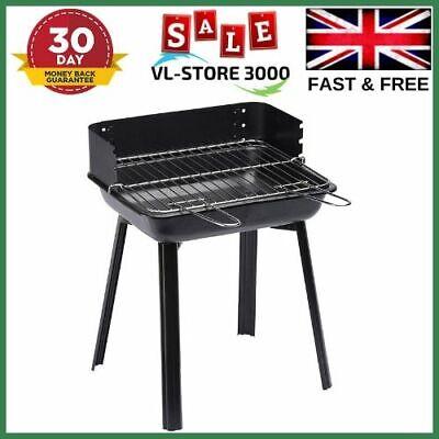 Landmann Black BBQ Charcoal Grill Barbecue Smoker Garden Outdoor Cooking Steel