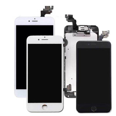 Touch Lcd Screens - iPhone 6 LCD Touch Screen Digitizer Replacement White or Black