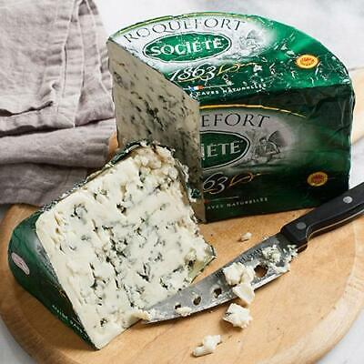 igourmet French Roquefort Cheese AOP Societe Bee (7.5 ounce) - Pack of 3