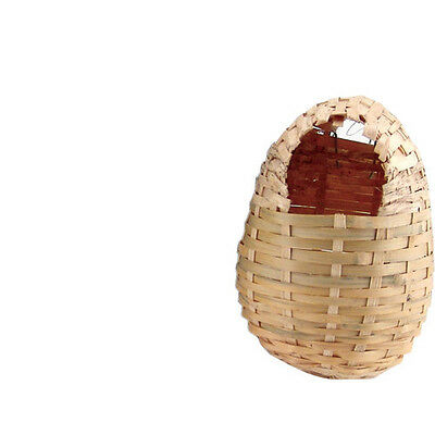 PREVUE FINCH COVERED HUT NEST BAMBOO TENT BED BIRD. FREE SHIPPING IN THE (Finch Nest)