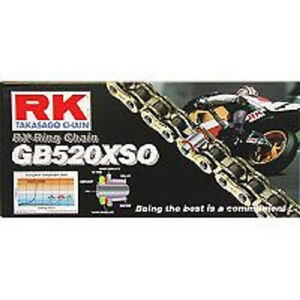 RK O-Ring Drive Chain GB520XSO 98 Links New
