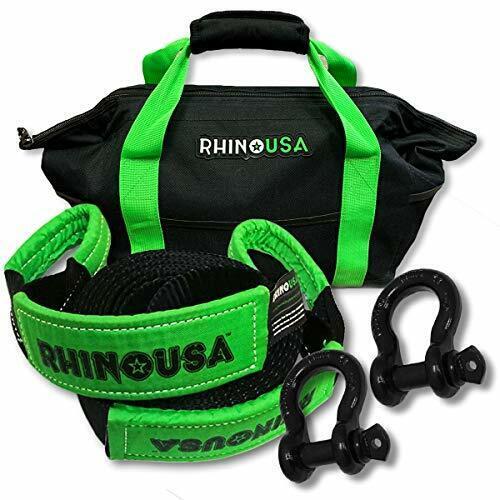 Rhino USA Combo D Ring Shackles & 20