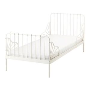 Kids Ext Bed Frame with Slatted Base no Mattress