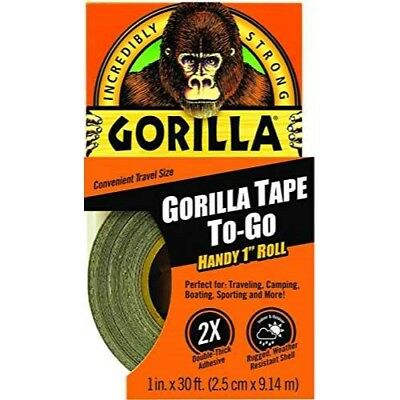 Gorilla Tape To-Go, Black