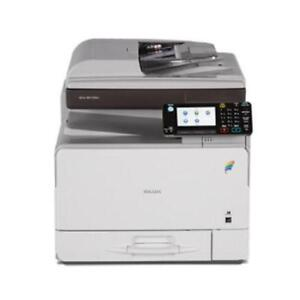 Ricoh Laser MFP Small Desktop Color Printer MP C305spf C305 Office Copier Scanner Fax BUY LEASE RENT