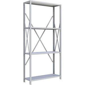 USED H.D. STEEL SHELVING UNITS. LESS THAN 1/2 THE COST OF NEW
