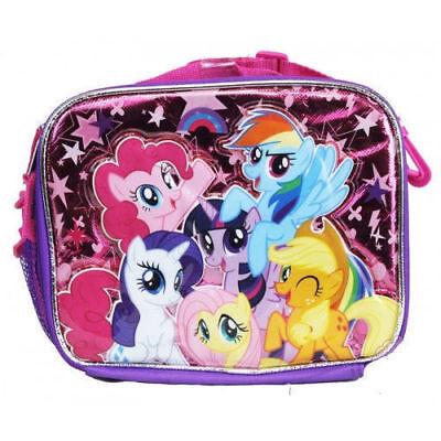 My Little Pony Kids Lunch Box Bag for Girls Unicorn Lunchbox Movie Cartoons Soft - Movie Lunch Box
