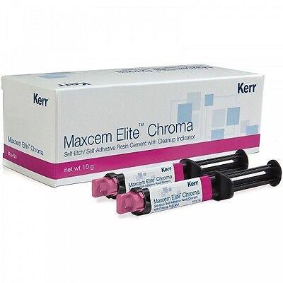 Kerr Maxcem Elite Chroma Self-etch Self-adhesive Resin Cement