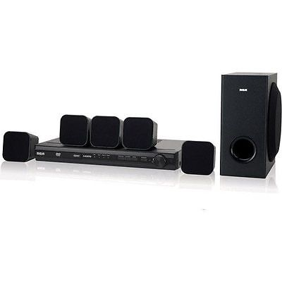 RCA RTD3276H DVD/CD 200W 5.1 Channel Home Theater System with Remote - Black