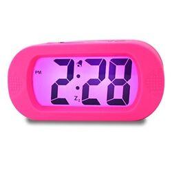 Girls Alarm Clock, Samshow Desk Clock, Travel Alarm Clock, Portable Clock, Simpl