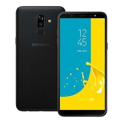 Brand New Samsung Galaxy J8 2018 Unlocked 64GB Dual SIM LTE 4G Black