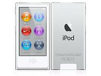 Apple iPod nano 7th Generation (Late 2012) Silver (16GB) (Latest Model)