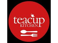 Experienced Kitchen Porters Needed at Teacup Kitchen & Cafe At The Museum