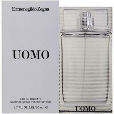 Uomo by Ermenegildo Zegna * Cologne for Men * 1.7 oz EDT Spray * New in Box (Zegna For Men)