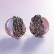 Marcasite Pierced Earrings