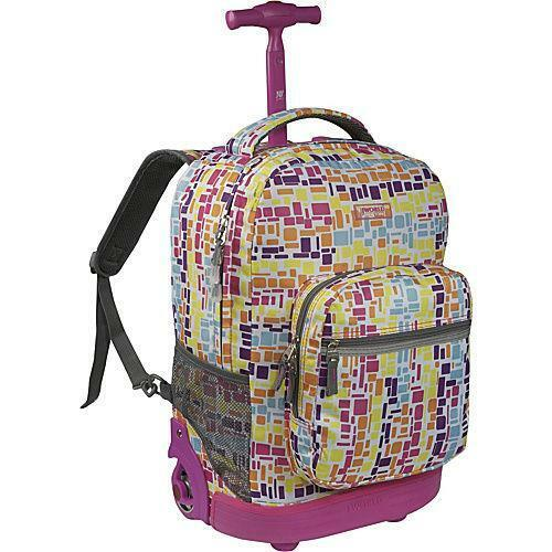 J World Rolling Backpack Ebay