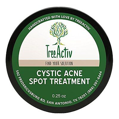 Cystic Acne Spot Treatment, Best Extra Strength Fast Acting Formula For