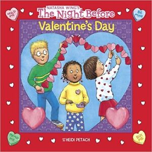 EUC BOOK - The Night Before Valentine's Day