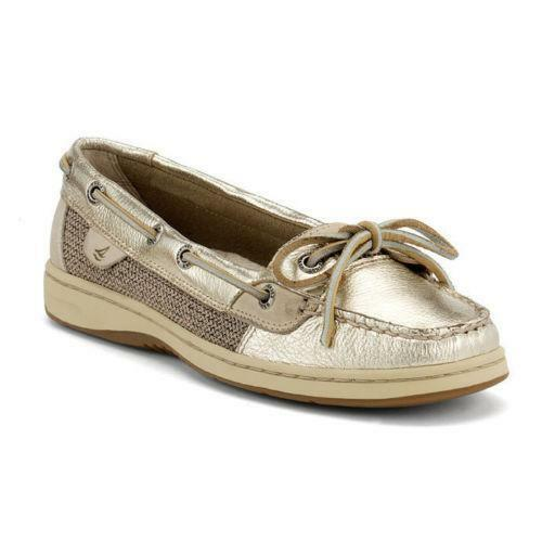 Sperry Angelfish Gold Flats Amp Oxfords Ebay